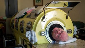Intern Inadvertently Orders Negative Pressure Ventilation; Patient Placed in Iron Lung