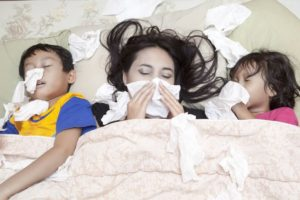 That Can't Be Good: Flu Swab Positive for C. Diff