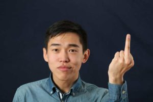 Graduating Resident Gives Finger to Every Attending in Department Before Leaving