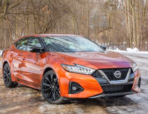 "2019 Nissan Maxima review: The ""four-door sports car"" that isn't     – Roadshow"