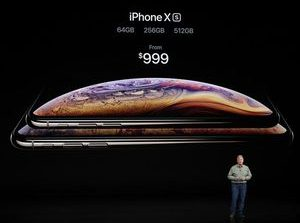 iPhone XS has 5.8-inch display, starts at $999     - CNET