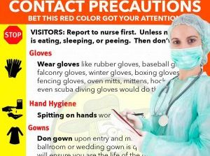 Middle School Dance put on Contact Precautions