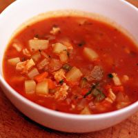 Manhattan Clam Chowder Mistaken For Bloody Emesis