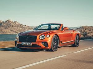 2019 Bentley Continental GT Convertible first drive review: 207-mph toupee shredder     - Roadshow