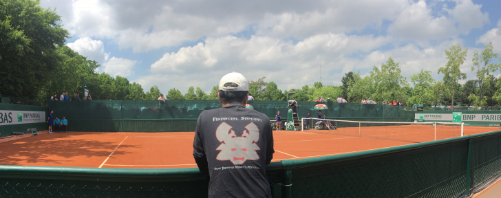 Financial Samurai at French Open 2016