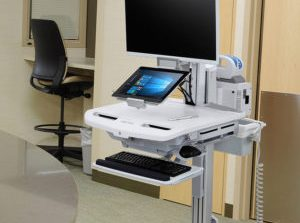 COWS (Computers on Wheels) Banned from Local Hospital