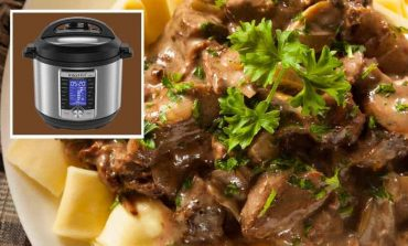 Amazing! Instant Pot Turns Graham Crackers Into Beef Stroganoff