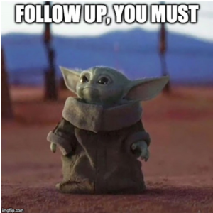 Baby Yoda Memes Improve Patient Compliance