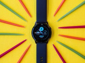 Samsung Galaxy Watch Active review: Slim, round and half the price of the Apple Watch     - CNET