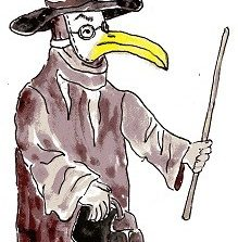 Gomerguy Plague Doctor Named Head of Cleveland Clinic's Wellness Institute