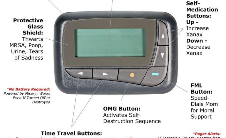 Drug Dealers Give Up Pagers, Doctors Left As Only Group Using Them