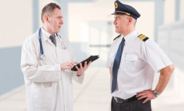 Pilot Consults Medicine, Asks if Plane Cleared for Landing