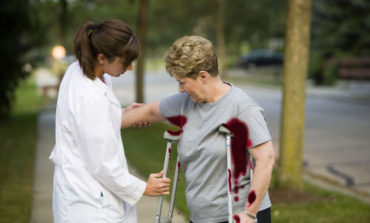 Woman Not Sure if She's Using Crutches Correctly