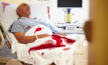 Patient Can't Wait to Yank Out Foley, Cause Bloodbath