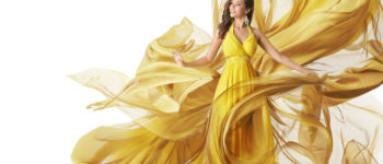 Dior's New Yellow Isolation Ballroom Gowns are Stunning