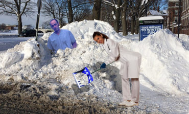 Oh No! Orthopedic Surgeon Got Plowed into a Snowbank