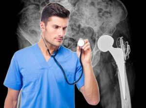 Orthopod Caught Listening to Femur with Stethoscope