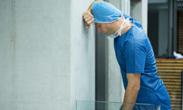 Nurse Waiting for Elevator Faces Stark Reality He Might Have to Take the Stairs