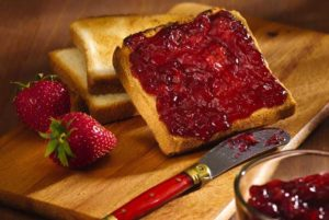 Currant Jelly Stool To Be Now Known as Strawberry Jam Stool