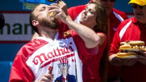 Cardiologist Excited to Cath Winner of Nathan's Hot Dog Eating Contest