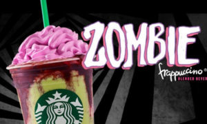 Starbucks Releases Zombie Frappuccino, Delightfully Frightening Way to Get Diabetes