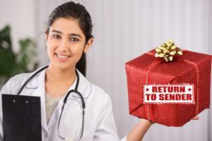 Hospitalist Spends Day After Christmas Returning Unwanted Admissions