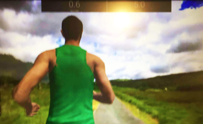Treadmill Drama: A**Hole Virtual Runner Won't Move Out of the Way