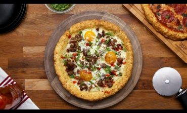 5-Step Potato Pizza Crust You'll Fall In Love With •Tasty