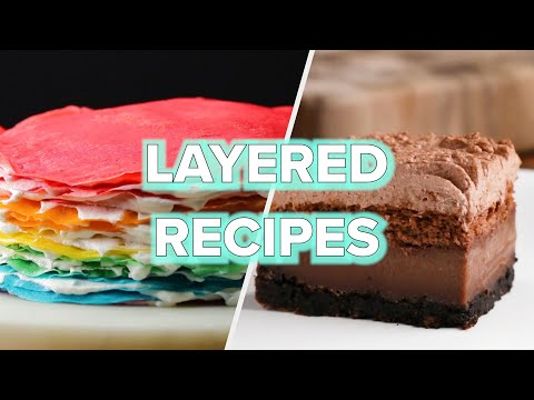 5 Layered Cake Recipes We Promise Are Worth The Effort • Tasty