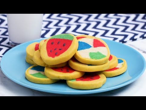 Double-Sided Slice & Bake Cookies