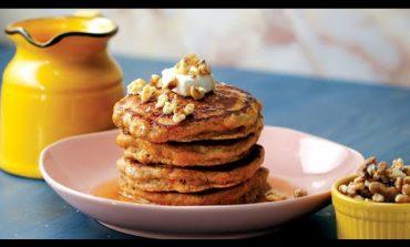 Spice Up Your Brunch with Carrot Cake Pancakes
