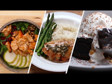 Romantic Three-Course Dinner You Can Make In 30 Minutes •Tasty