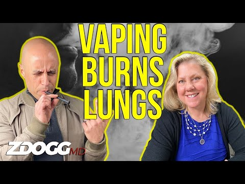 Vaping-Related Lung Injury | Dr. Dixie Harris