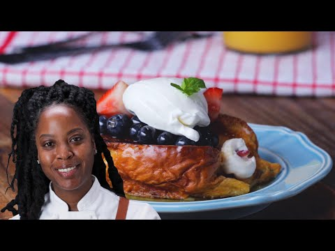 Stuffed French Toast by Chef Andrea Drummer