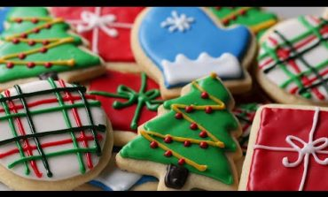 Shortbread Cut-Out Cookies With Royal Icing