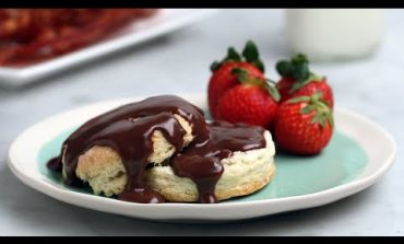 Chocolate Gravy and Biscuits • Tasty
