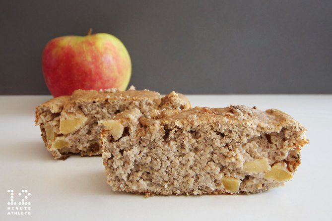 Chunky Apple Banana Protein Bread