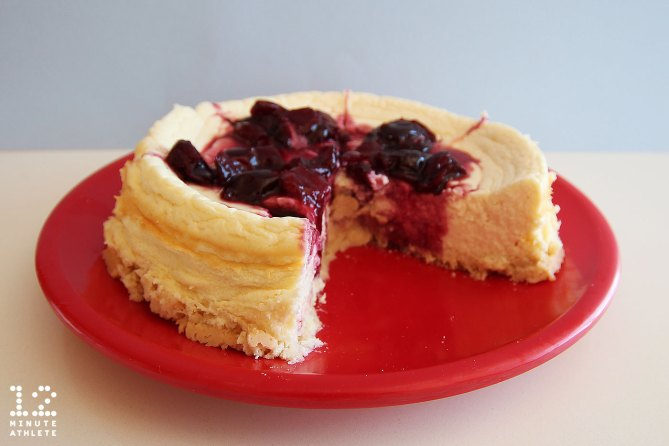 Cherry protein cheesecake recipe
