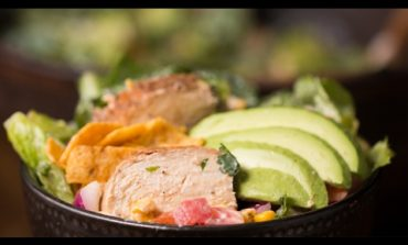 Rainbow Grilled Chicken Salad