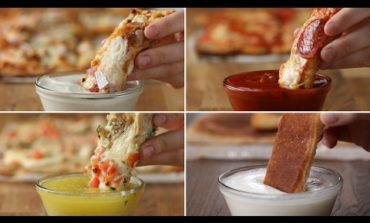 Pizza Dippers 4 Ways