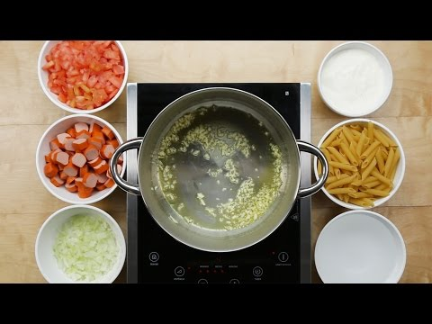 One-Pot Hot Dog Pasta
