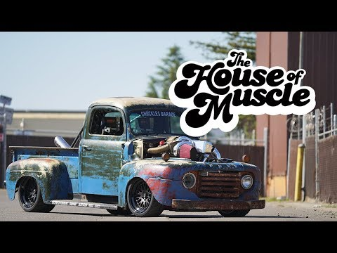 Chuckles Garage: 1949 Ford F1 – The House Of Muscle Ep. 10