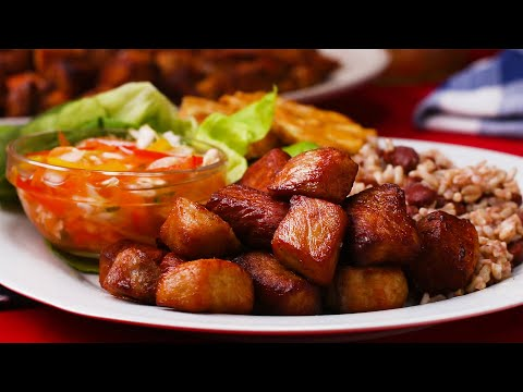 Haitian Griot and Pikliz