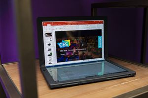 Lenovo ThinkPad X1 Fold: Foldable screens have moved into tablet territory     - CNET